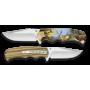 Couteau 3D cerf