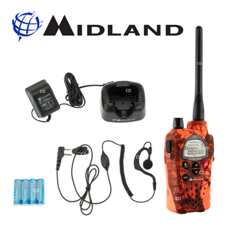 Talkie Walkie MIDLAND G9 EXPORT!!