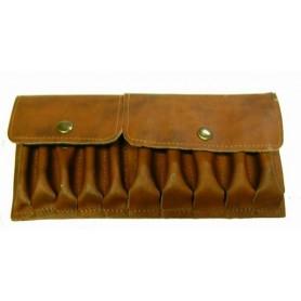 Pochette mixte cuir balles/cartouches